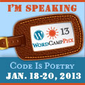 Speaking at WordCamp Phoenix