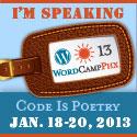 Speaking at WordCamp Phoenix