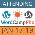 Attending WordCamp Phoenix 2014