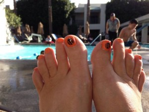 Toes at the Pool